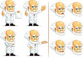 Scientist Or Professor Customizable Mascot 13
