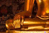 Buddha Statue's hand