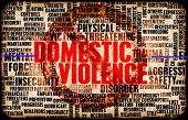 stock photo of abused  - Domestic Violence and Abuse as a Abstract - JPG