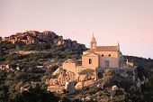 foto of chapels  - The chapel of Notre Dame de la Serra near Calvi in the Balagne region of Corsica - JPG