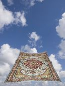 Magic Carpet In A Blue Sky