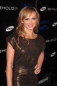 Karina Smirnoff at the Samsung Behold ll Premiere Launch Party, Blvd. 3, Hollywood, CA. 11-18-09