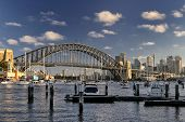 Lavender Bay, Luna Park and the Harbour Bridge