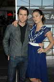 Christian Campbell and America Olivo at the