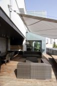 contemporary loft - terrace