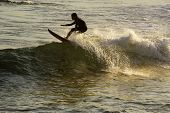 stock photo of ipanema  - Boy surfing in Ipanema beach at Rio de Janeiro  - JPG