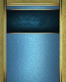 picture of jade blue  - The template for the inscription - JPG