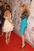 Eva Longoria Parker and Paulina Rubio at the 9th Annual Padres Contra El Cancer's 'El Sueno de Esperanza'. Hollywood Palladium, Hollywood, CA. 09-10-09