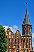 Koenigsberg Cathedral - Gothic Temple 14Th Century. Kaliningrad (until 1946 Koenigsberg), Russia