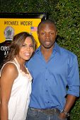 Aonika Laurent and Sean Patrick Thomas at the Los Angeles Premiere of 'Capitalism A Love Story'. Samuel Goldwyn Theatre, Beverly Hills, CA. 09-15-09