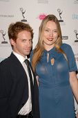 Seth Green and Clare Grant at the Academy of Television Arts and Sciences Prime Time Emmy Nominees Party. Wolfgang Puck Pacific Design Center, West Hollywood, CA. 09-17-09