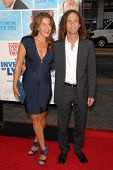 Lyndie Benson and Kenny G at the US Premiere of 'The Invention of Lying'. Grauman's Chinese Theatre,