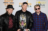 Benji Madden and Joel Madden at the 'Rock A Little, Feed A Lot' Benefit Concert. Club Nokia, Los Angeles, CA. 09-29-09