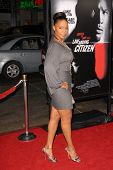 Sanaa Lathan  at the Los Angeles Premiere of 'Law Abiding Citizen'. Grauman's Chinese Theatre, Holly