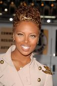 Eva Marcille  at the Los Angeles Premiere of 'Law Abiding Citizen'. Grauman's Chinese Theatre, Holly