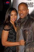 Regina Hall and Jamie Foxx  at the Los Angeles Premiere of 'Law Abiding Citizen'. Grauman's Chinese