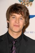Devon Werkheiser at the 2009 World Magic Awards benefitting Feed The Children. Barker Hanger, Santa Monica, CA. 10-10-09