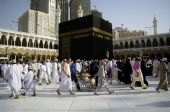 People Walking Around The Ka'aba