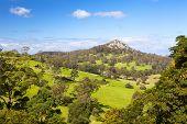 stock photo of dromedaries  - Little Dromedary near Central Tilba in its idyllic setting in New South Wales - JPG