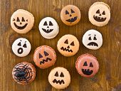 Macaroons With Scary Faces