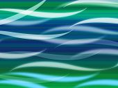 picture of curvy  - Sea Waves Background Meaning Curvy Light Ripples - JPG
