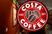 SHENZHEN - APRIL 15: Costa cafe on April 15, 2014 in Shenzhen, China. Costa Coffee is a British mult
