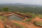 View From The Sigiriya Rock In Sri Lanka