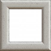 The image of a white wooden art framework