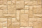 image of stone house  - Stone Wall Strength Suitable For Building Houses And Buildings - JPG