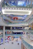 NU Sentral Shopping mall interior Kuala Lumpur