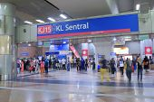 KL Sentral LRT Station Kuala Lumpur Malasia