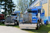 Two American Vintage Kenworth Heavy Trucks