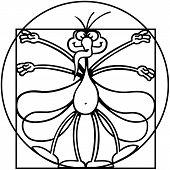 The Vitruvian mosquito