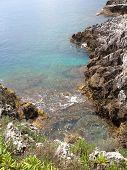 au bord de la mer méditerranée