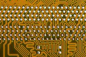 Part Of The Printed-circuit Board