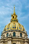 Les Invalides, architectural detail