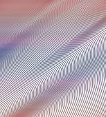 Wavy Abstract In Pastel Colors
