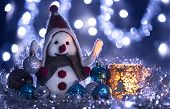 Snowman 7 Brought Christmas Balls