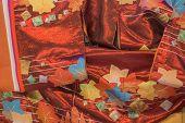 Kimono fabric detail