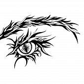 Human Eye Sign