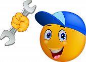 Repairman emoticon