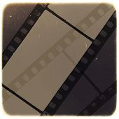 Old Filmstrip Abstract Background. Raster version