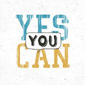 Yes you can typography background. With textured background. Raster version