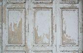 Paint Peeling Wooden Door