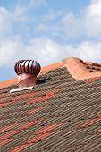 Turbine Ventilation On Domestic Roof