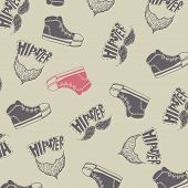 Sneakers Fashion Background