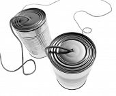 pic of tin can phone  - tin phones - JPG