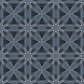Ornate Seamless Tribal Pattern