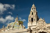 The Tower And Dome At Balboa Park, San Diego