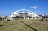 View Of Moses Mabhida Stadium From Durban Promenade